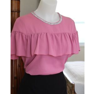 NWOT Juicy Couture Pink Blouse
